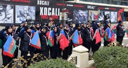 Hocalı katliamında şehit edilen Azeri kardeşlerimiz anıldı