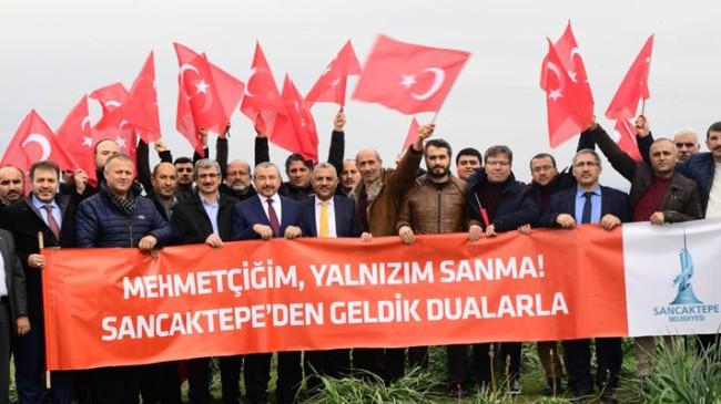 Sancaktepe Mehmetçiğe destek için Reyhanlı'da