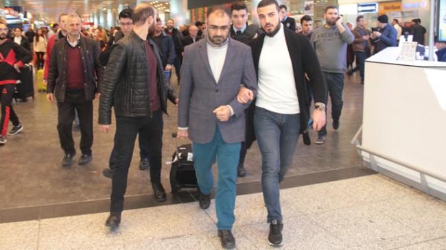 Terörist İsrail'in gözaltına aldığı Cemil Tekeli Yurda döndü