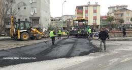 Ümraniye Belediyesi, mahallelerdeki cadde ve sokakları yeniliyor