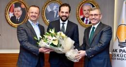 AK Parti Üsküdar'da Adem Kaan Pehlivan dönemi resmen başladı