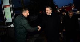 Başkan Erdem, gün doğmadan Sancaktepe sokaklarında halkla içiçe