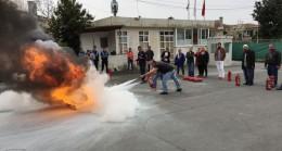 """Beykoz Belediyesi'nden """"Temel Afet Bilinci ve Yangın"""" eğitimi"""