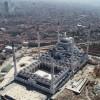 Çamlıca Camii kuşbakışı görüntülendi