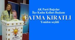 Fatma Kıratlı, Bağcılar'da yeniden AK Kadınların Başkanı