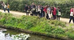 Ümraniyeli öğrencilerin orman keşifleri sürüyor