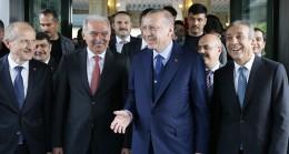 Cumhurbaşkanı Erdoğan, İBB'de