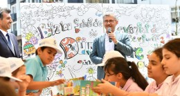 Başkan Türkmen, çevre gününde çocuklarla buluştu