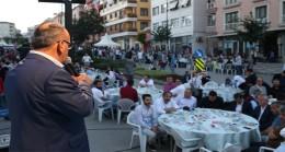 Başkan Hasan Can, komşularıyla gönül sofrasında buluştu