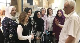 Ahde Vefa Platformu, Osman Kısakürek'i ziyaret etti