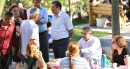 Başkan Türkmen, Üsküdarlılarla 5 çayında buluşmaya devam ediyor
