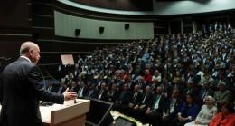 """Cumhurbaşkanı Erdoğan, """"belediye başkanının gönüllere girmesi lazım"""""""