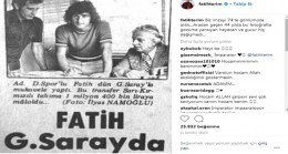 Fatih Terim'in Galatasaray'la ilk buluştuğu o tarihi imza