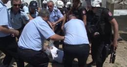 Polis ve zabıtaya direnen vatandaşın son hali!
