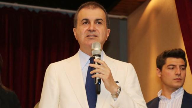 """AK Parti Sözcüsü Ömer Çelik, """"Hamza Dağ eleştiri sınırlarını aşmıştır"""""""