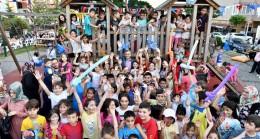 Başkan Türkmen, çocukların mutluluğuna ortak oldu