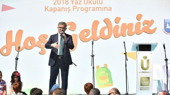 """Başkan Türkmen, """"Çocuklukta temel eğitim en önemli kısımdır"""""""