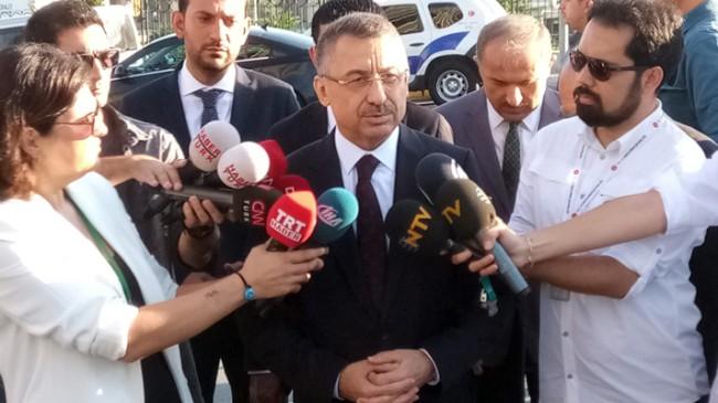 """Başkan Yardımcısı Oktay, """"Türkiye güçlenerek yoluna devam edecektir"""""""