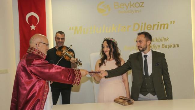 Beykoz'da 8.8.2018 nikahlarına özel