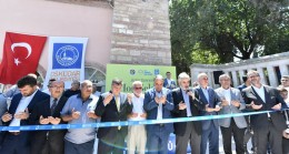 Fethi Ahmet Paşa Camii dualarla açıldı