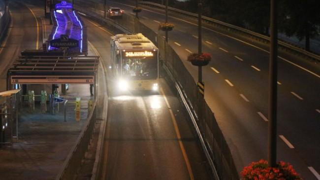 Haliç Köprüsü metrobüs yolu tamam
