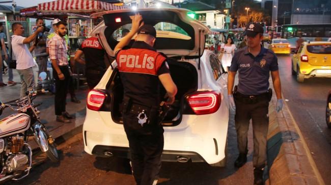 İstanbul'da 4600 polisle uygulama!