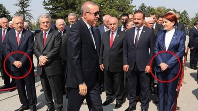 Kılıçdaroğlu ile Akşener'in beden dili!