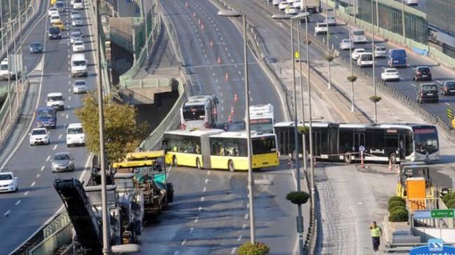 Metrobüs seferlerinde aksama olacak mı?
