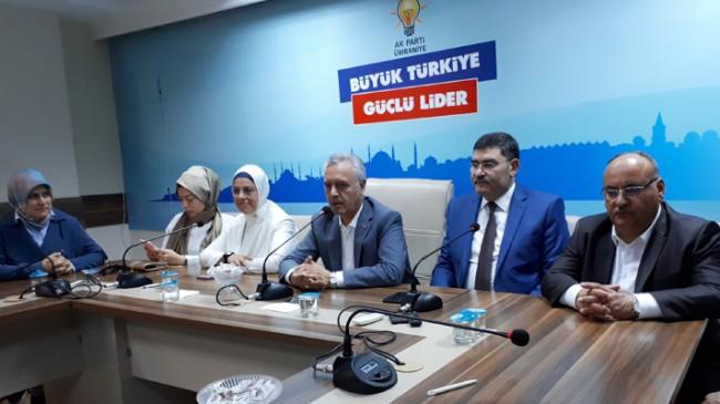"""Mustafa Ataş, """"Birlikte olursak ulaşamayacağımız hedef yoktur"""""""