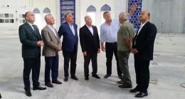 TBBM Başkanı Binali Yıldırım Çamlıca Camiini inceledi