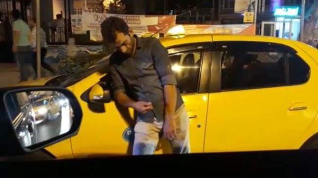 Uyuşturucu madde kullanan taksici