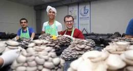 Bağcılar Belediyesi'nden engellilere mantar üretim eğitimi