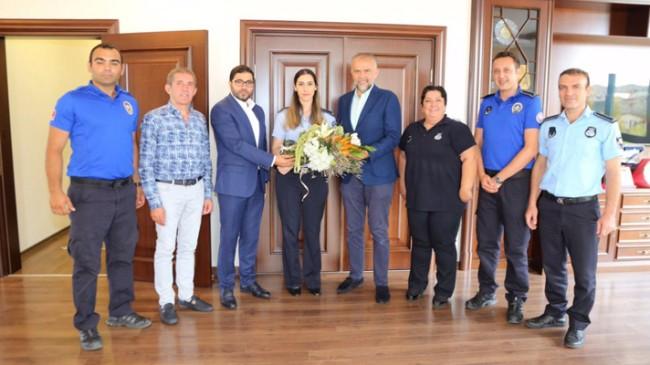 Başkan Ahmet Poyraz, zabıtaların Zabıta Haftası'nı kutladı