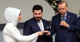 Başkan Erdoğan, çiftlere o nasihati etti