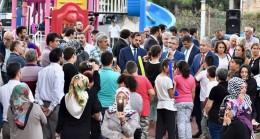 Başkan Türkmen, Bulgurlu sakinleriyle Altınköy Parkı'nda 5 çayında buluştu