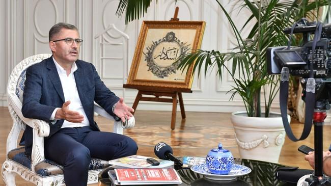 """Başkan Türkmen, """"İhtiyaç sahiplerine nakdi desteğimiz ayda 1 milyon"""""""
