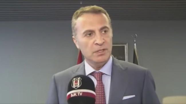 """Beşiktaş Kulübü Başkanı Fikret Orman, """"Konuştukları şeylerin yüzde 99.9'u yalan"""""""