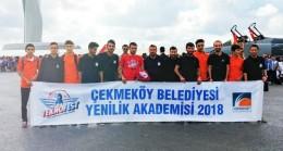 Çekmeköy Belediyesi Yenilik Akademisi, TEKNOFEST'te yarışıyor