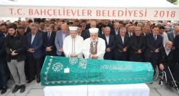 Ergün Turan'ın babası Hakk'a uğurlandı