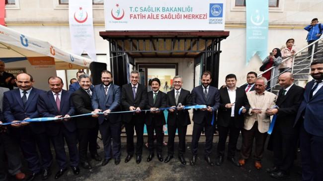 Fatih Aile Sağlığı Merkezi açıldı