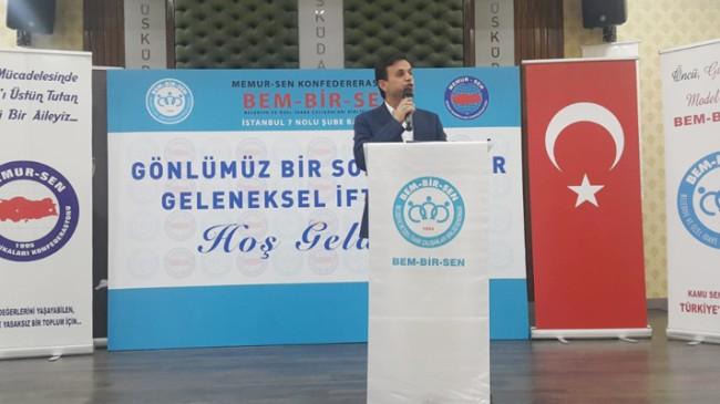 İstanbul Takipte, 7 No'lu Şube Başkanı Sıtkı Uçar ve ekibinin yanındadır
