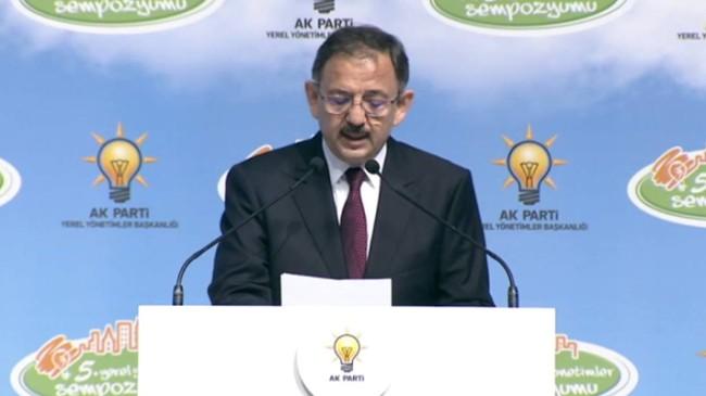 Mehmet Özhaseki, AK Parti'li Belediyeler için kanuni tedbir alınacağını söylüyor!