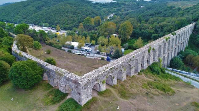 Tarihi Kovuk Kemer restore ediliyor