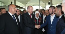 Başkan Erdoğan, Dünya Şampiyonu Khabib Nurmagomedov ile