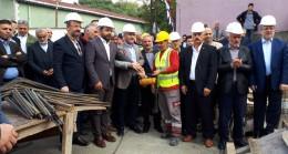 Başkan Türkmen için duygu dolu bir cami temel atma töreni