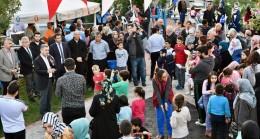 Başkan Türkmen'in 5 çayı durağı Mehmet Akif Ersoy Parkı