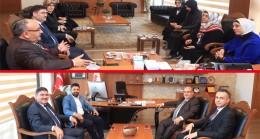 AK Parti İstanbul Milletvekillerinden Başkan Hasan Can'a ziyaret