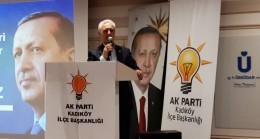 """Ataş, """"AK Parti'nin 16 yılda yaptıklarını bunlar 16 saatte heba ederler!"""""""