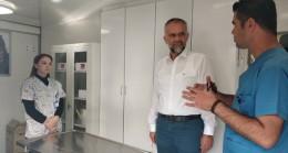 Başkan Poyraz'dan Vetbüs' ziyaret