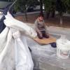 Suriyeli Muhammed, görenleri duygulandırdı